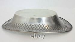 Alvin Argent 925 Ovale Plat Platter Pain Plateau Bol 216g -12
