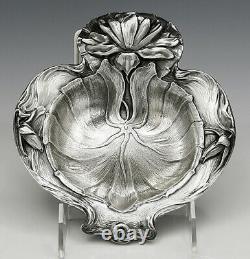 Alvin Eau Sterling Lily Art Nouveau Bowl