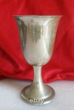 Alvin Lullaby Sterling Silver Goblet Vin Cordial Water Cup