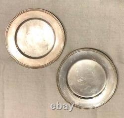 Alvin Sous-verre Argent Sterling Paire 6 D Vintage