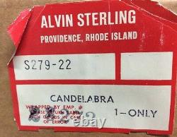 Alvin Sterling 1 Paire Candelabra (s17)