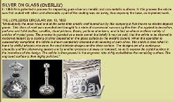 Alvin Sterling En Argent Fin Overlay Crystal Pitcher / Decanter Vers 1900