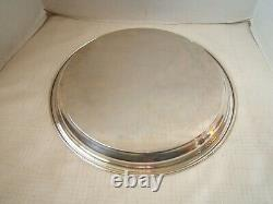 Alvin Sterling Silver Tray 14 Ronde