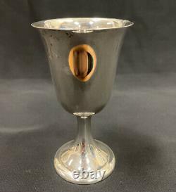 Alvin Vintage #s250 Gobelet Sterling De Vin D'eau Argentée