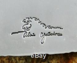 Alvin Yellowhorse Terre Mère Père Ciel Inlay Pendant