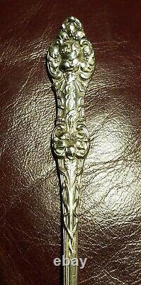 Antique Alvin Old Orange Blossom Sterling Silver Iced Tea Spoon