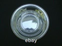 Antique Sterling Silver Round Vegetable Serving Bowl Alvin S84 9 234 Grms Solide