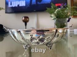 Argent Sterling 925 Antique Bowl 135 Grams