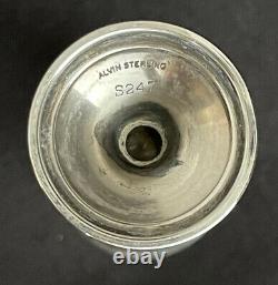 Ensemble De 4 Alvin 3 Sterling Silver Cordial Shot Glasses Liquor Cup S247 Apéritif
