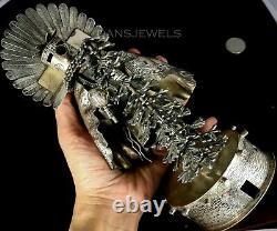 Old Pawn Vintage Alvin Vandever 8 Sterling Silver Handmade Kachina Sculpture