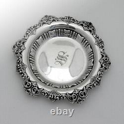 Ornate Petit Bol De Service Alvin Sterling Silver Mono S