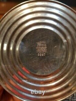 Paire Vtg Alvin #s237 Bougies En Argent Sterling 8 687g (wtd)