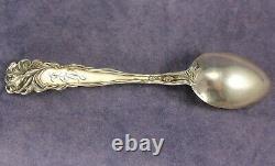 Raphaël Par Alvin 41⁄4 Argent Sterling Art Nouveau Figural Demitasse Spoon