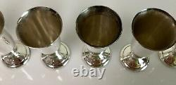 Sterling Silver Cordial Set Of 6 Alvin S247