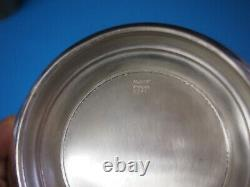 Sterling Silver Round Vegetable Bowl Alvin 6 Pouces 208 Grammes