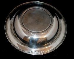 Vintage Alvin Ornate Sterling Silver Grand Bol De Légumes 10