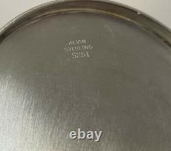 Vintage Alvin S251 Sterling Silver Mint Julep Cup Tumbler Avec Mono 112 Grammes